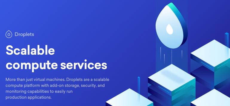 DigitalOcean Cloud VPS Droplets
